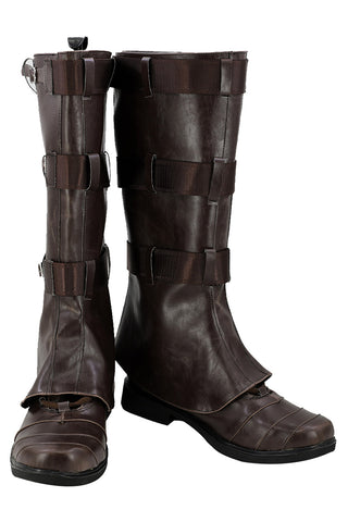 Avengers Infinity War Captain America Steven Rogers Cosplay Schuhe Stiefel