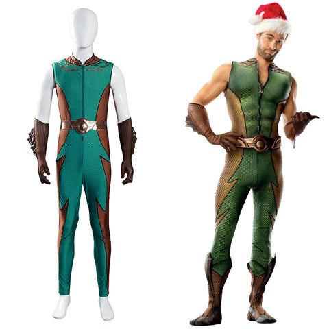 The Boys Ocean Master Cosplay Kostüm Orm Marius Jumpsuit Halloween Karneval Outfits