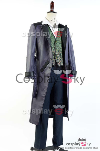Batman Arkham Origins Blackgate Joker Outfit Cosplay Kostüme