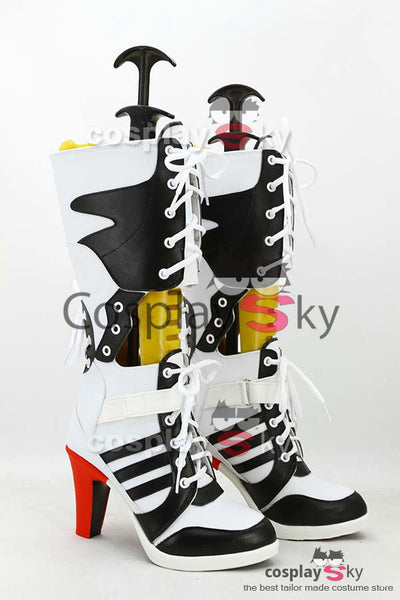 Batman Suicide Squad Harley Quinn Stiefel Cosplay Schuhe