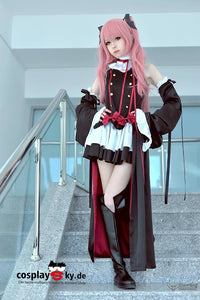 Seraph of the End Vampire Krul Tepes Cosplay Peruecke