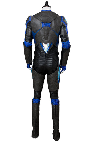 Black Lightning Schwarzer Blitz Jefferson Pierce Cosplay Kostüm