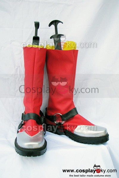 Blazblue Ragna The Bloodedge Cosplay Stiefel Schuhe