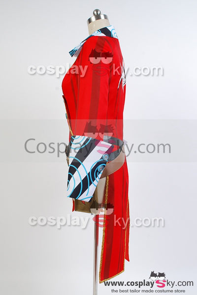 Borderlands 2 Mad Moxxi Rot Uniform Cosplay Kostüm