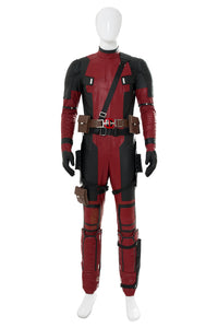 Deadpool 2 Sequel (2018) Untitled Deadpool Wade Wilson Jumpsuit Cosplay Kostüm