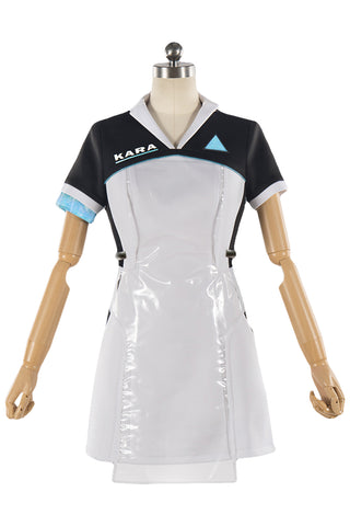 Detroit: Become Human KARA Uniform Halloween Cosplay Kostüm Uniform