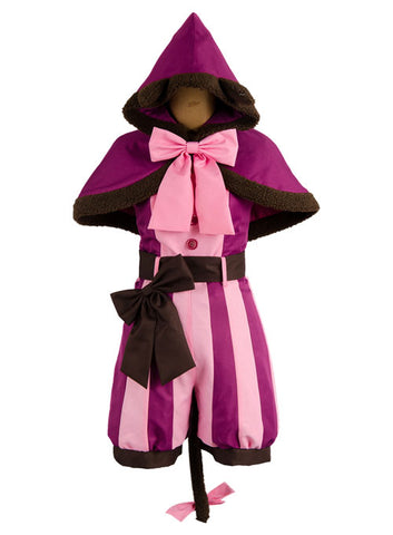 Alice In Wonderland Cheshire Katze Outfit Cosplay Kostüm