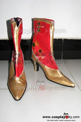 Dissidia 012: Duodecim Final Fantasy Cosplay Stiefel Rot