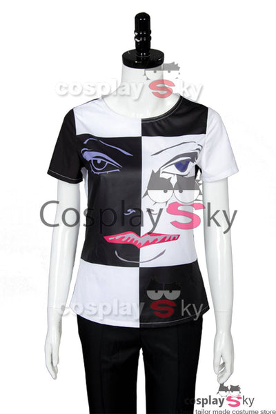 Doctor Who Season 10 Bill Potts T-shirt Cosplay Kostüm weiß-schwarz
