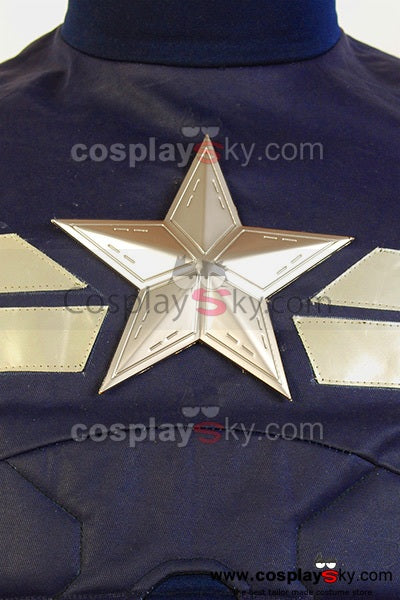 Captain America 2 The Winter Soldier The Return of the First Avenger Steve Rogers Metall Star Badge Stern Abzeichen Requisiten
