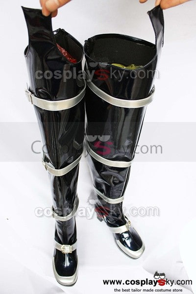 Dynasty Warriors Cao Pi Weiblich Version Cosplay Stiefel Schuhe