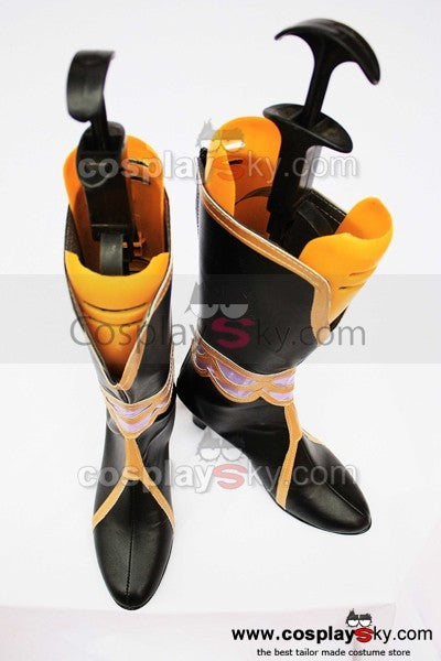 Dynasty Warriors Zhen Ji Lady Zhen Cosplay Stiefel Schuhe