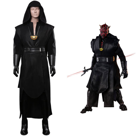 Star Wars Darth Maul Cosplay Halloween Karneval Kostüm