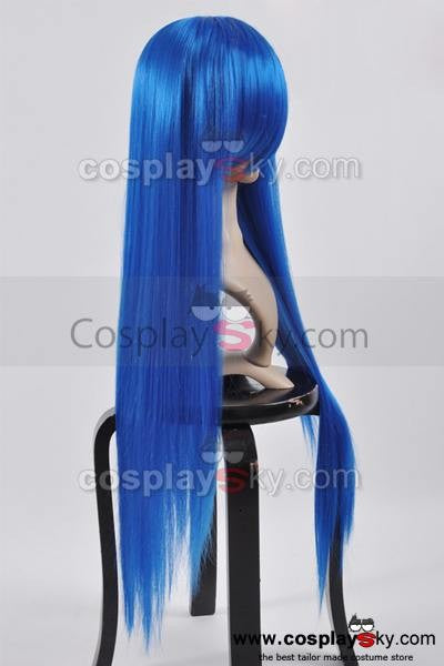 Fairy Tail Wendy Marvell Blaue Cosplay Perücke 100cm