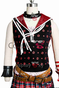 Final Fantasy XV FF 15 Iris Amicitia Dress Outfit Cosplay Kostüm