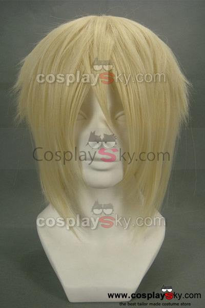 Hakuōki Kazama Chikage Cosplay Perücke Gold Version