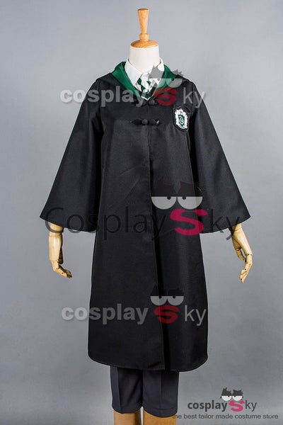 Harry Potter Slytherin Uniform Draco Malfoy nur Umhang Cosplay Kostüm für Kinder