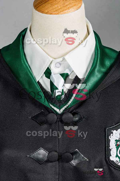 Harry Potter Slytherin Uniform Draco Malfoy Cosplay Kostüm Erwachsene Ver.