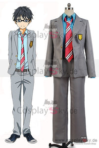 Kimi no Uso Your Lie In April Kousei Arima Uniform Kleidung Cosplay Kostuem