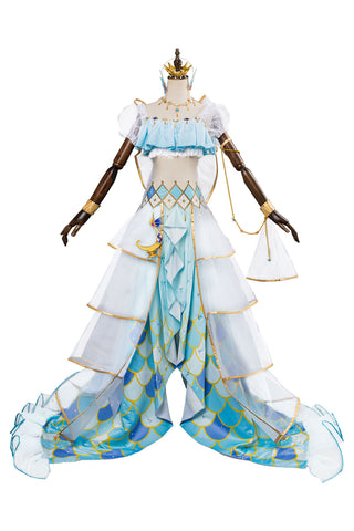 Love Live ! Aqours You Watanabe Mermaid Ver. Meerjungfrau SR 1643 Cosplay Kostüm