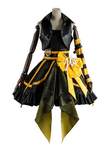 Love Live Lovelive Initial D School Idol Stage Rin Hoshizora Kleid Cosplay Kostüm