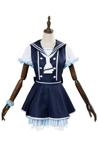 LoveLive!! Kousaka Honoka Cosplay Kleid Kostüm SR1266 Pirate Ver Uniform