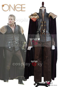 Once Upon a Time Prince Charming David Nolan in Enchanted Forest Cosplay Kostüm