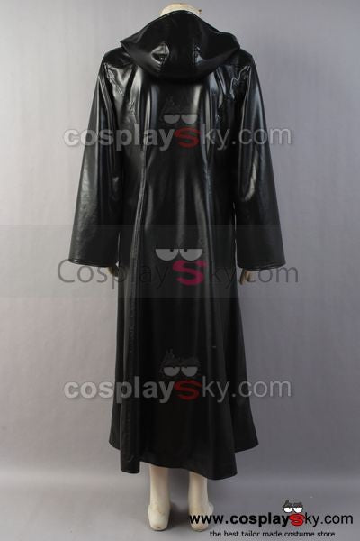 Organization XIII Kingdom Hearts II Cosplay Pleather Mantel Kostüm