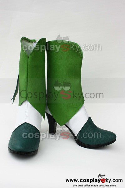 Smile Precure! Pretty Cure Nao Midorikawa Cure March Cosplay Schuhe Stiefel