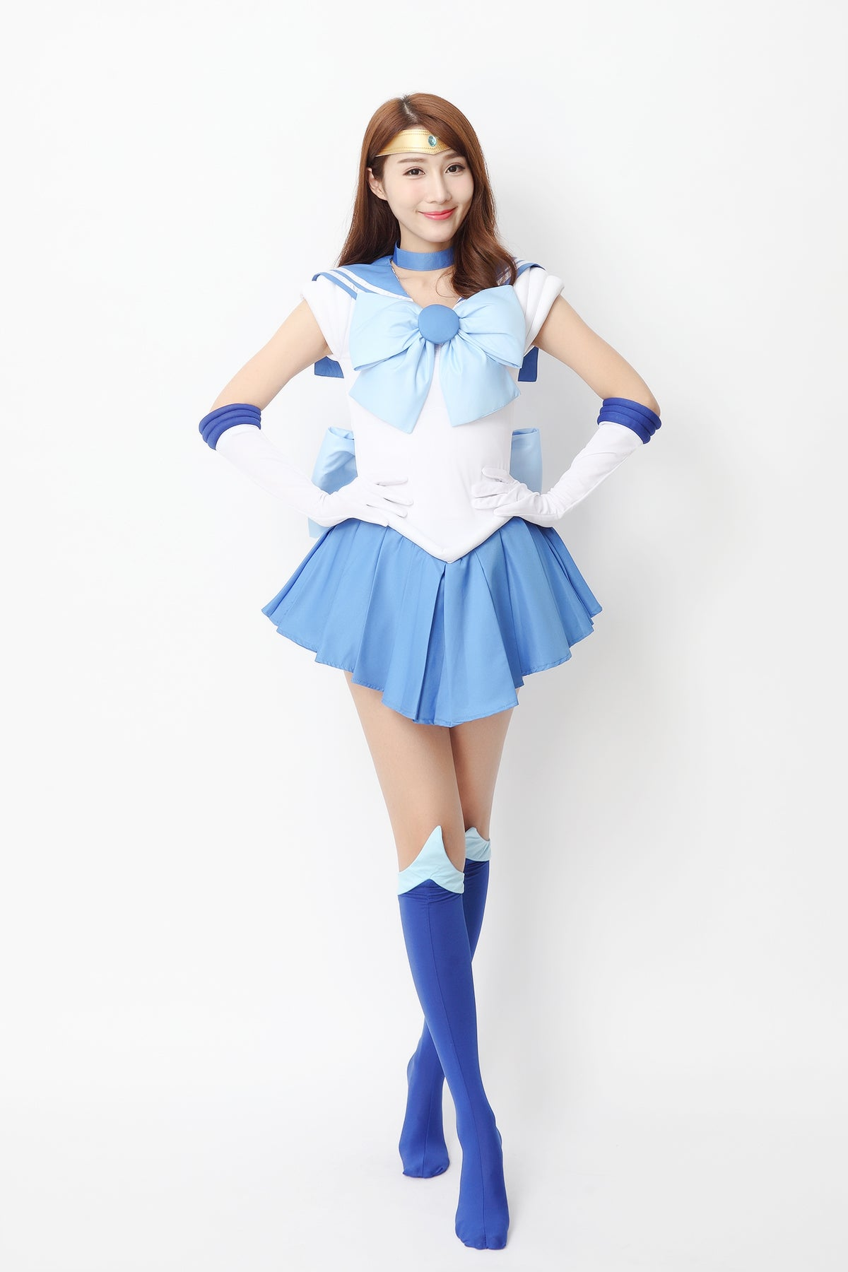 Sailor Moon Mizuno Ami Kleid Cosplay Kostüm
