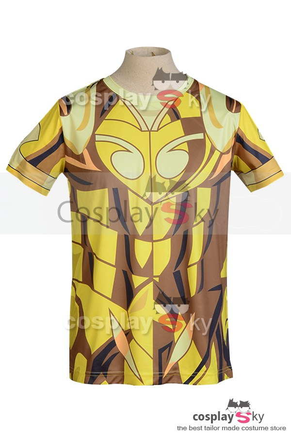 Saint Seiya Gold St.  Aries Shion T-Shirt (L Groesse)