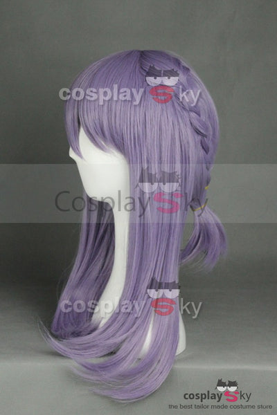 Seraph of the End Shinoa Hīrag Braid Cosplay Perücke