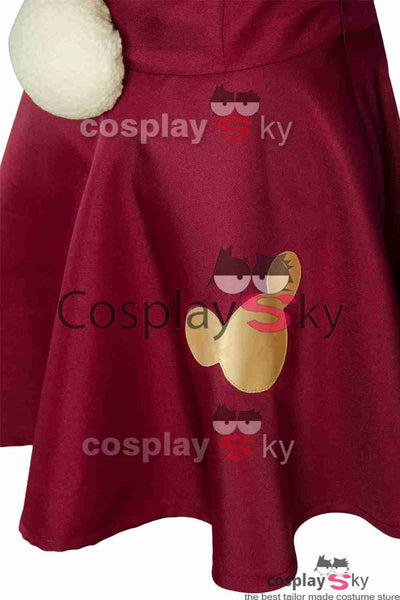 Shellie May The Disney Bär Kleid Cosplay Kostüm