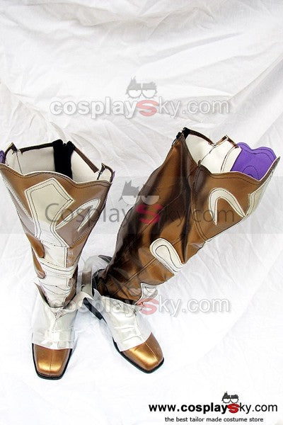 Shining Wind Kiriya Kaito Cosplay Stiefel Golden