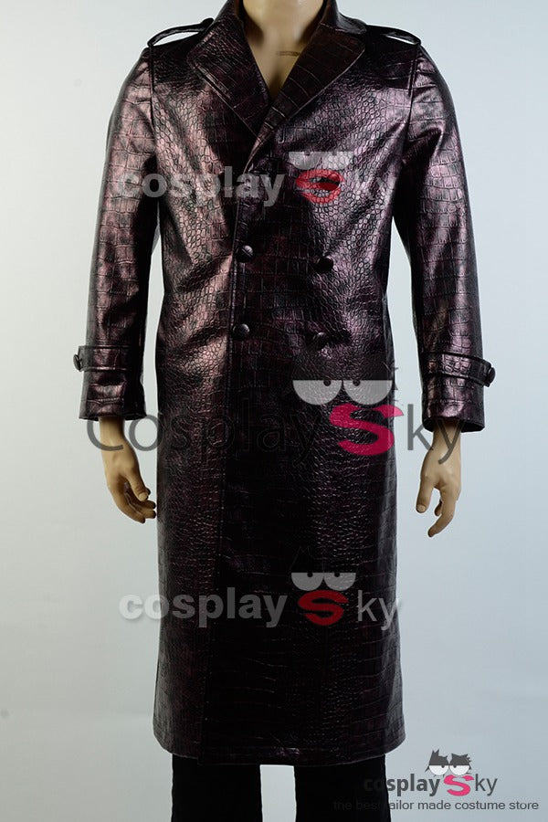 Batman Suicide Squad Jared Leto Joker Mantel Cosplay Kostüm
