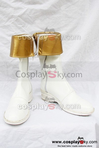 Tales of Phantasia Mint Adnade Cosplay Stiefel Weiß