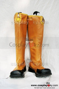 Tales of the Abyss Guy Cecil Cosplay Stiefel Schuhe