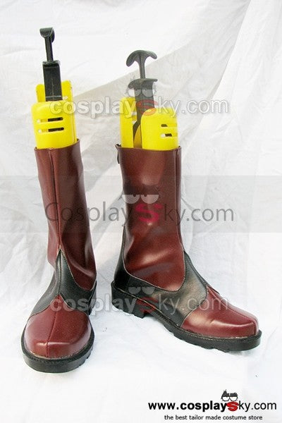 Tales of the Abyss Luke Cosplay Stiefel Schuhe