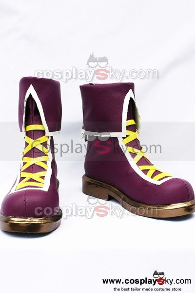 The King of Fighters Athena Asamiya Cosplay Stiefel Schuhe