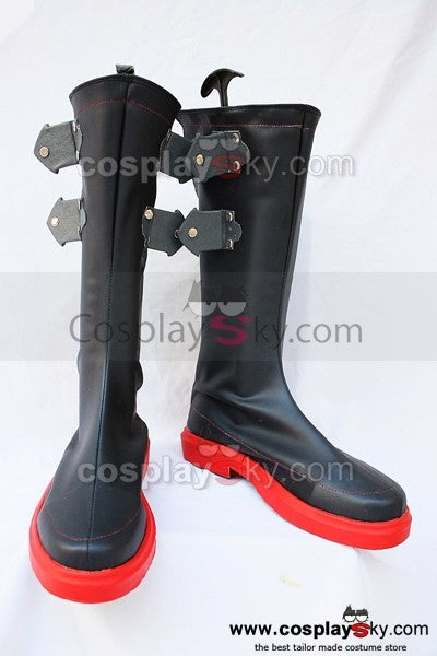 The King of Fighters KOF Ash Crimson Cosplay Stiefel Schuhe