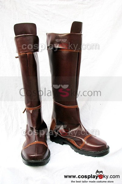 The Legend of Zelda Cosplay Stiefel Schuhe Braun