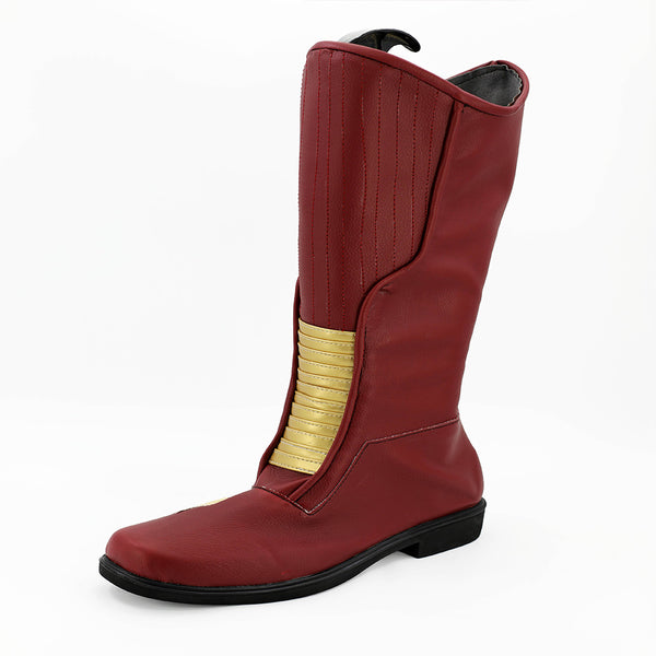 The Flash Season 4 Barry Allen Stiefel Cosplay Schuhe