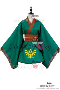The legend of Zelda Hero Link Cosplay Kostüm Frau Version