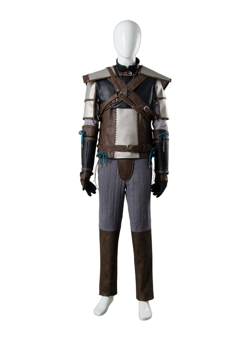 The Witcher 3 Wild Hunt Geralt of Rivia Outfit Cosplay Kostüm