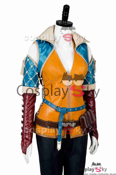 The Witcher 3 Wild Hunt Triss Outfit Cosplay Kostüm