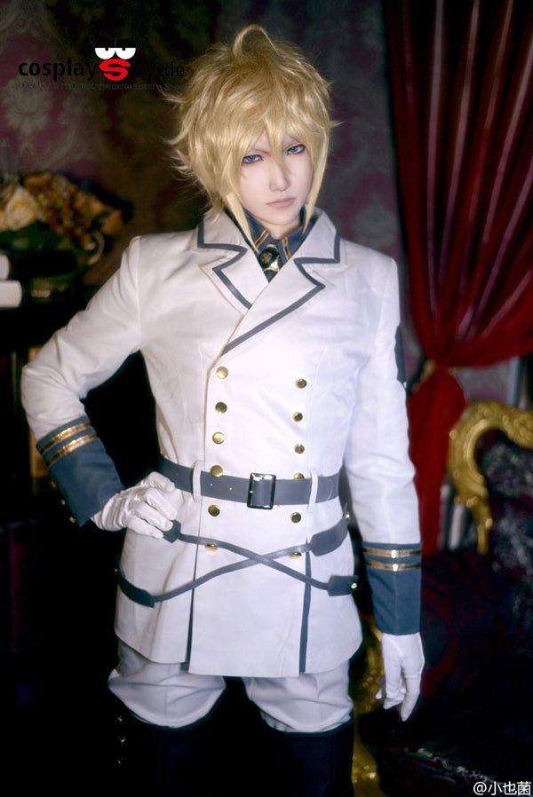 Vampires Mikaela Hyakuya Uniform Outfit Seraph of the End Cosplay Kostuem