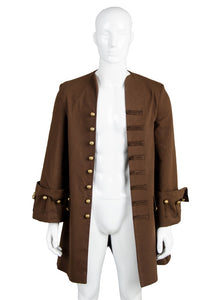 Pirates Of The Caribbean Fluch der Karibik Jack Sparrow Johnny Depp nur 1 Jacke Cosplay Kostüm