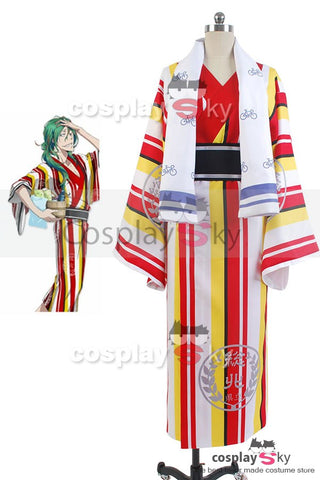 Yowamushi Pedal Sohoku High School Members Badetuch Yuusuke Makishima Kleid Cosplay Kostuem