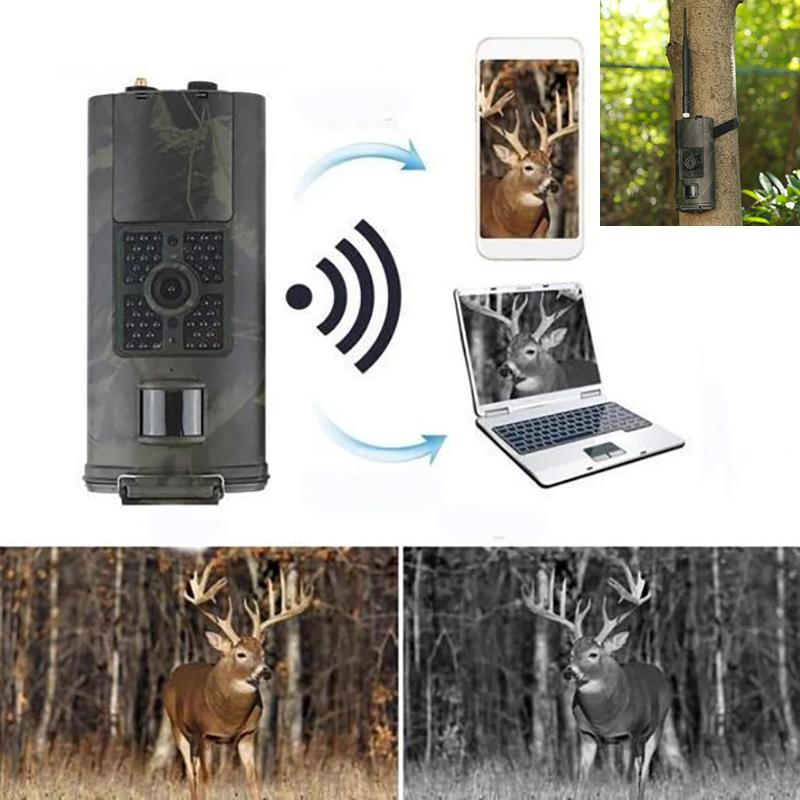Professional Trail Camera (1080P HD + 3G WIRELESS SIGNAL)