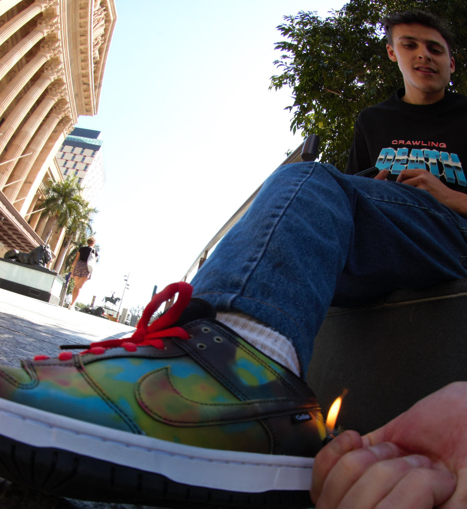 Civilist x Nike SB Dunk (stefano) shoot by - Jordy Welk